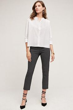 Minimalist Poplin Buttondown - anthropologie.com
