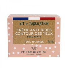 Kit de Fabrication Crème Anti-Rides Contour des Yeux 100% naturel Aloe Vera, Creme Anti Rides, Kit Diy, Coco, Eyeshadow, Beauty, Sleep Debt, Natural Eyes, Eye Creams