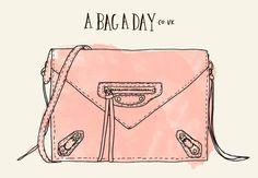 Balenciaga Papier Triple Xs Zip Around Textured-Leather Shoulder Bag - Buy Here