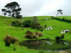 Hobbit hills New Zealand