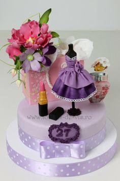 Bellisimo pastel. Como todos los que hace Viorica's cakes