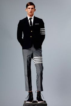 #Menswear #Trends Thom Browne Spring Summer 2015   FY