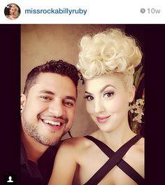 Awesome hair! Miss Rockabilly Ruby