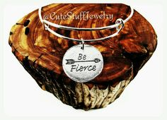 Be Fierce Bracelet Be Fierce Bangle Arrow by CuteStuffJewelry
