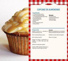 Cupcake de almendras