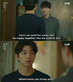 lol kdrama funny joke goblin the lonely and great god Goblin Kdrama Funny, Goblin Funny, Goblin The Lonely And Great God, Goblin Korean Drama, K Drama, Yoo Gong, Kwon Hyuk, Kdrama Memes, Drama Quotes