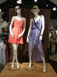 BP Riviera dress statement.