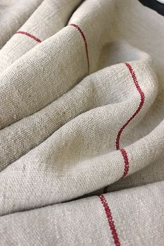 Antique Linen Hemp Homespun Fabric