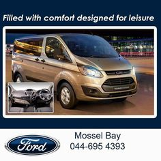 We would love to introduce you to the Ford Torneo Custom. Filled with comfort and designed for leisure the vehicle offers the handling of a sedan and the space of an MPV. Test drive one today at Mosselbaai Ford & Mazda. #luxurytransporter #lifestyle #comfortabledriving