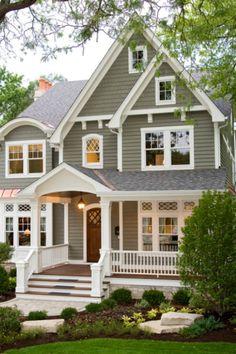 11 great gray house exteriors images exterior homes exterior rh pinterest com