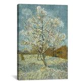 Found it at Wayfair - 'The Pink Peach Tree l, 1888' by Vincent Van Gogh Painting Print on Canvas