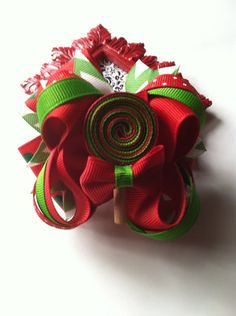 Christmas hairbow