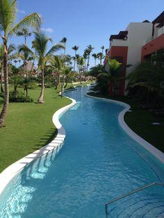 Breathless Resort outside our room.....