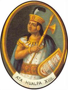 """""""Muchas notidicas llegadas a los cnquistadores del Nuevo Mundo se referían a hechos reales, como el saqueo de los dos mayores imperios de la América precolombina: el azteca y el inca. Para muchos, la verdadera emoción fue al conocerse el episodio en que el conquistador del Perú, Francisco Pizarro, exigió para liberar al rebelde Atahualpa su propia altura en oro dentro de un recinto de seis metros de ancho por ocho de largo"""""""