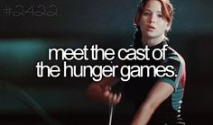 Meet the cast of the hunger games