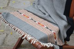 Stola Schal handgewebte wolle