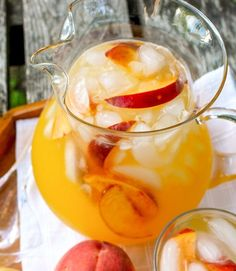 Recipe: Sparkling Spiked Peach Lemonade — The 10-Minute Happy Hour | The Kitchn