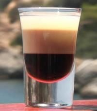 Screaming Orgasm  Ingredients:  1 measure very good quality vodka  1 measure Irish Cream (Bailey's)  1 measure Kahlua