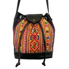The Sirii is a great every day draw string cross body bag. Accompanied by leather trimmings, the Sirii is constructed from hand made hill tribe textiles. Boho Gypsy, Baggage, Fair Trade, Cross Body, Crossbody Bag, Textiles, Draw, Chic, Store
