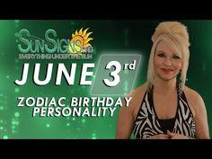 Gemini Zodiac Facts - 3rd June Birthday Horoscope For 2015 - 2016 - YouTube