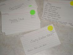 sidetracked home executives card file