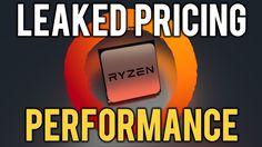 AMD Zen FULL SPECS & PRICING STACK + 1700X Performance