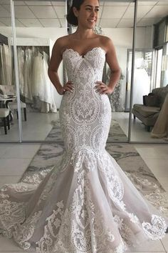 Buy Sexy Mermaid Ivory Lace Appliques Backless Wedding Dresses, Wedding Gowns in uk.Rock one of the season's hottest looks in a burgundy homecoming dress or choose a timeless classic little black dress. Stunning Wedding Dresses, Long Wedding Dresses, Tulle Wedding, Cheap Wedding Dress, Bridal Dresses, Lace Mermaid Wedding Dress, Backless Wedding, Wedding Dresses Mermaid Style, Mermaid Bridal Gowns