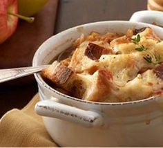 French Onion & Sweet Apple Soup