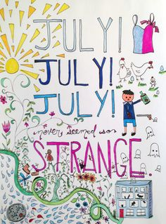 happy july! the decemberists | july! july!, #quote #songlyrics #art
