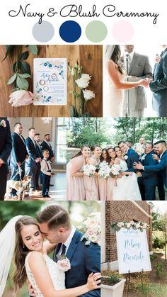 Beach Wedding Colour Scheme, Summer Colors For Wedding, Summer Wedding Inspiration, Color Palette For Wedding, Blue Wedding Colors, September Wedding Colors, Romantic Wedding Colors, Wedding Color Pallet, Navy Spring Wedding