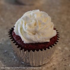 Through the Calm and Through the Storm: Red Velvet Cupcakes for Valentine's Day