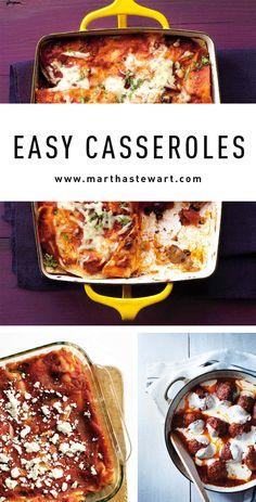 Easy Casseroles   Martha Stewart Living