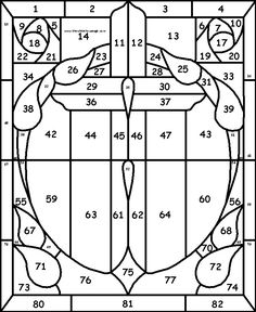 Free Stained Glass Pattern | Free Religious Patterns For Stained Glass
