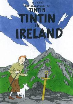 Les Aventures de Tintin - Album Imaginaire - Tintin in Ireland