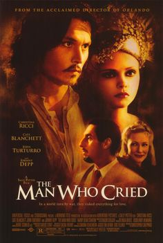 johnny depp movie posters | Johnny Depp The Man Who Cried Movie Reproduction Poster