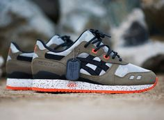 ASICS GEL LITE III BAIT GUARDIAN EDITION MODEL 002 TIGER RONNIE FIEG / Dog Tags #ASICS #AthleticSneakers