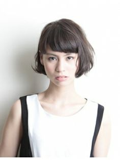 Pin on japan beauty Pin on japan beauty Short Hairstyles For Women, Hairstyles With Bangs, Pretty Hairstyles, Braided Hairstyles, Girl Short Hair, Short Hair Cuts, Short Hair Styles, Cut My Hair, Love Hair