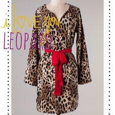 {I Love You Leopard} Dress, $44.95 www.DustyDiamondsBoutique.com Huntsville, TX Only $3.00 Shipping! :)
