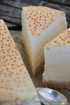 Sernik Złota Rosa Polish Desserts, Polish Recipes, Cake Recipes, Dessert Recipes, Food Cakes, Cheesecakes, Superfood, Cake Cookies, Vanilla Cake