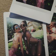 Kendall Jenner and Hailey Baldwin hit Coachella in bikini looks. Photo via Instagram