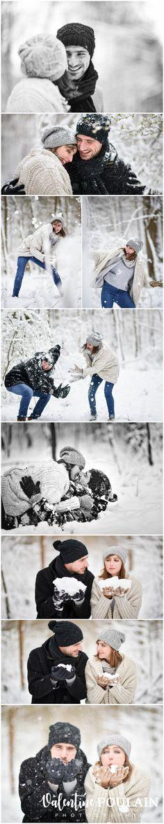 Le plus dingue, c'est qu'ils sont toujours ultra-canons même après une bataille de boules de neige ! :O Deux âmes d'enfants pour un shooting hivernal, plein de joie de vivre, c'est ici !  - The crazy thing is that they are still ultra-cannons even after a snowball fight! : O Two souls of children for a winter shoot, full of joy of life, it's here!
