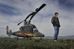helicopter with pilot - Google Search