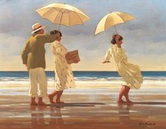 Jack Vettriano - Die Picknick Party