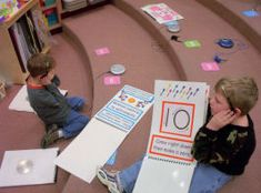 Tons of literacy center ideas