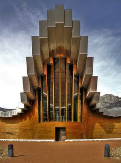 Bodegas Ysios (Laguardia, Spain) by Santiago Calatrava #wine #architecture