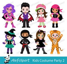 halloween costume clipart halloween costume clip art cute rh pinterest com halloween clipart for kids free Trcik or Treat Clip Art