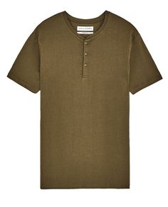 BUTTON NECK T-SHIRT-View all-T-SHIRTS-MAN-SALE