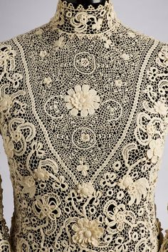 """Up Close: Blouse 1905-1910 (Museum of Applied Arts, Budapest) """