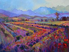 Original oil painting of Sequim Washington, by Erin Hanson