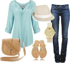 """Spring Staples"" by rmphillips09 ❤ liked on Polyvore"